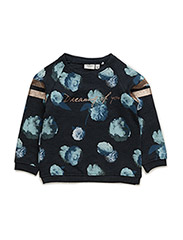NITLAVRINA LS SWEAT O-NECK MZ - DRESS BLUES