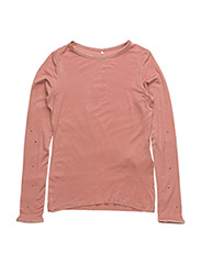 NITPELISSIMO LS SLIM TOP NMT - ASH ROSE