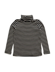 NITEMILLE  LS ROLLNECK TOP NMT - BLACK