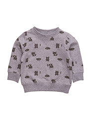 NITANIMAL SWEAT MZNB - GREY MELANGE
