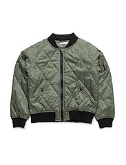 NITMANUEL JACKET NMT - OIL GREEN