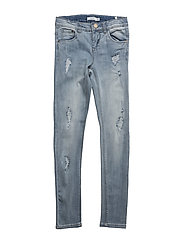 NITTOLA XXSL/XXSL DNM PANT NMT NOOS - LIGHT BLUE DENIM