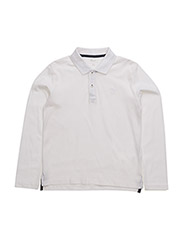 NITLULLIVER LS POLO NMT - BRIGHT WHITE