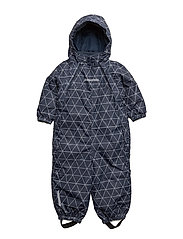 NITSTORM SNOWSUIT AOP MZ B FO - DRESS BLUES
