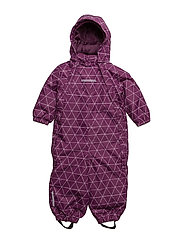 NITSTORM SNOWSUIT AOP MZ G FO - DARK PURPLE