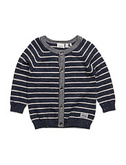 NITFRILLE LS KNIT CARD MZNB - DRESS BLUES