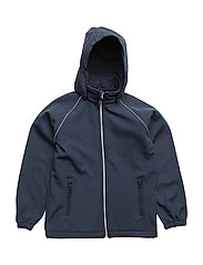 NITALFA SOFTSHELL JACKET HB BLUE NMT FO - DRESS BLUES