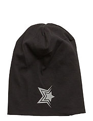 NITMOPPY REFLECTIVE DROPSHAPE HAT NMT - BLACK