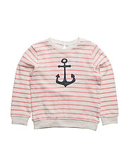 NITFIONA LS SWEAT TOP MZ - FLAMINGO PINK
