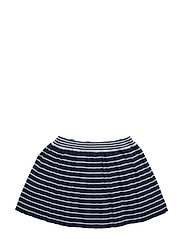 NITFINESSA KNIT SKIRT MZ - DRESS BLUES