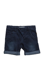 NITBATO SLIM DNM LONG SHORTS MZ - DARK BLUE DENIM