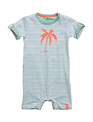 NITDERRY SS SUNSUIT MZNB - AQUA HAZE