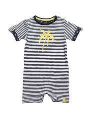 NITDERRY SS SUNSUIT MZNB - DRESS BLUES