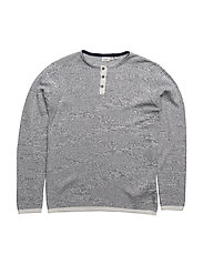 NITKOSMO LS KNIT ONECK NMT - DRESS BLUES