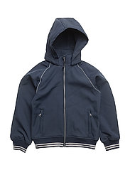 NITALFA SOFTSHELL BOMBER JACK HB NMT FO - DRESS BLUES