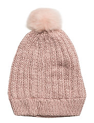 NITMALU KNIT HAT F NMT - EVENING SAND