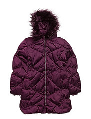 NITMELIA DOWN JACKET F NMT - DARK PURPLE