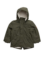 NITMYLES PARKA JACKET M MINI - FOREST NIGHT