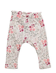 NITDINNIE PANT F NB - SNOW WHITE