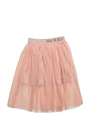 NITJINA LONG TULLE SKIRT F NMT - EVENING SAND