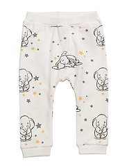 NITDUMBO BRICE PANTS N NB WDI - SNOW WHITE
