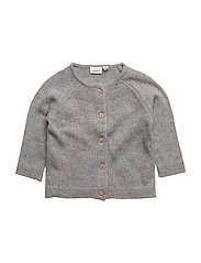 NITDIABLE LS KNIT CARD F NB - GREY MELANGE