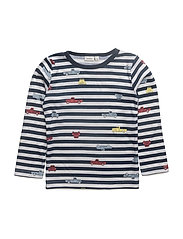 NITWILLITTRU WOOL LS TOP MINI - SNOW WHITE