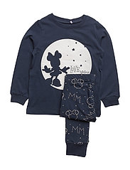 NITMINNIE JACEY NIGHTWEAR F MINI WDI - DRESS BLUES