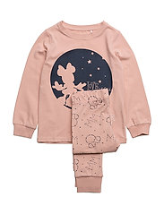 NITMINNIE JACEY NIGHTWEAR F MINI WDI - EVENING SAND