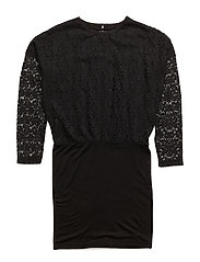 NITHEDRA LS DRESS F NMT - BLACK