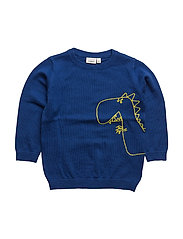 NITETINO LS KNIT BOX M MINI - SURF THE WEB