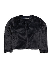 NITIWAMMA LS FAKE FUR JACKET WL F NMT - SKY CAPTAIN