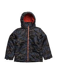 NITMELLON JACKET CAMO M NMT - BLACK
