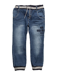 NITTAL BAG/R DNM PANT MINI NOOS - MEDIUM BLUE DENIM