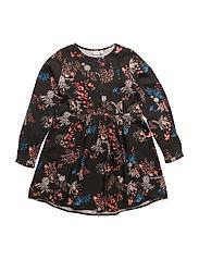 NKFJIDIDDE LS DRESS - BLACK