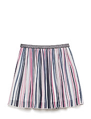 NKFHAINBOW SKIRT - BRIGHT WHITE