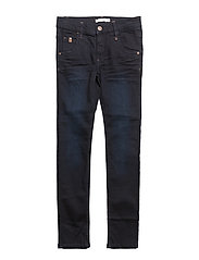 NKMSILAS DNMCOMO 3012 PANT CAMP - DARK BLUE DENIM