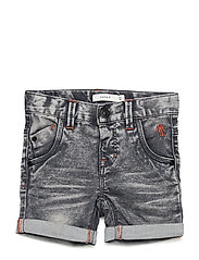 NMMSOFUS DNMBALLAN 5051 LONG SHORTS - MEDIUM GREY DENIM
