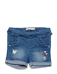NMFSALLI DNMBOLIT 2061 SHORTS - MEDIUM BLUE DENIM