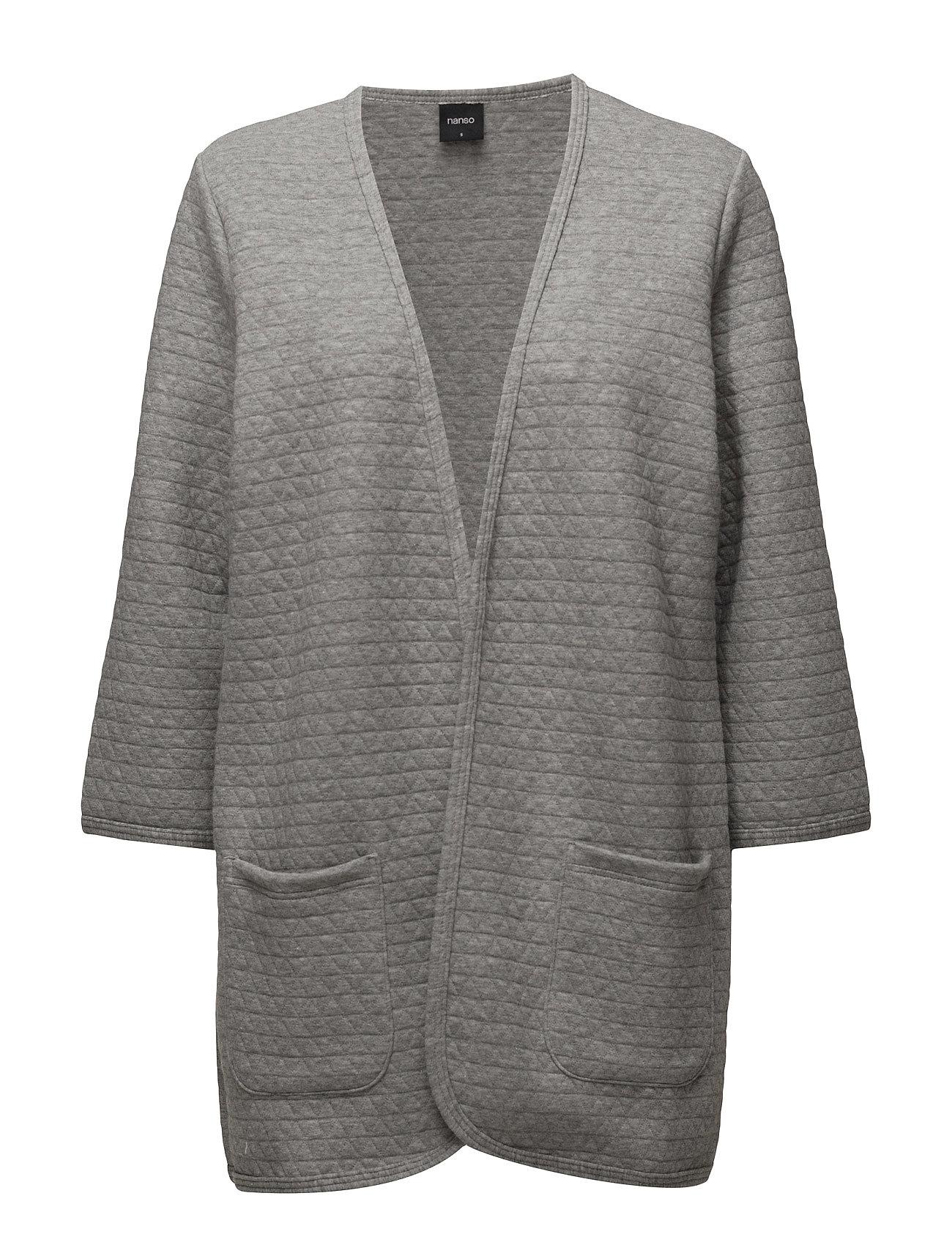 Ladies Cardigan, Nokkela (Grey Melange) (£82.20) - Nanso | Boozt.com