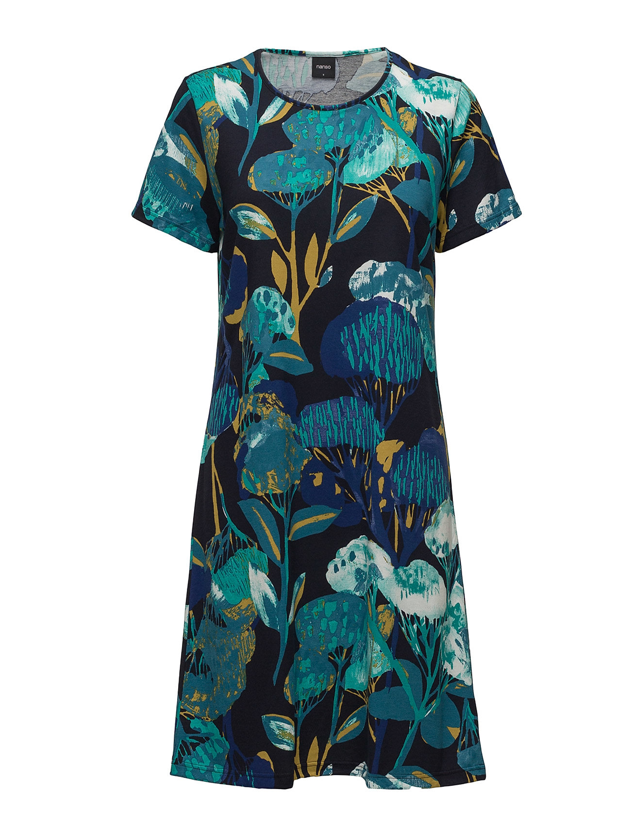 Ladies Big Shirt, Taikamaa Nanso Nattøj til Damer i Blå