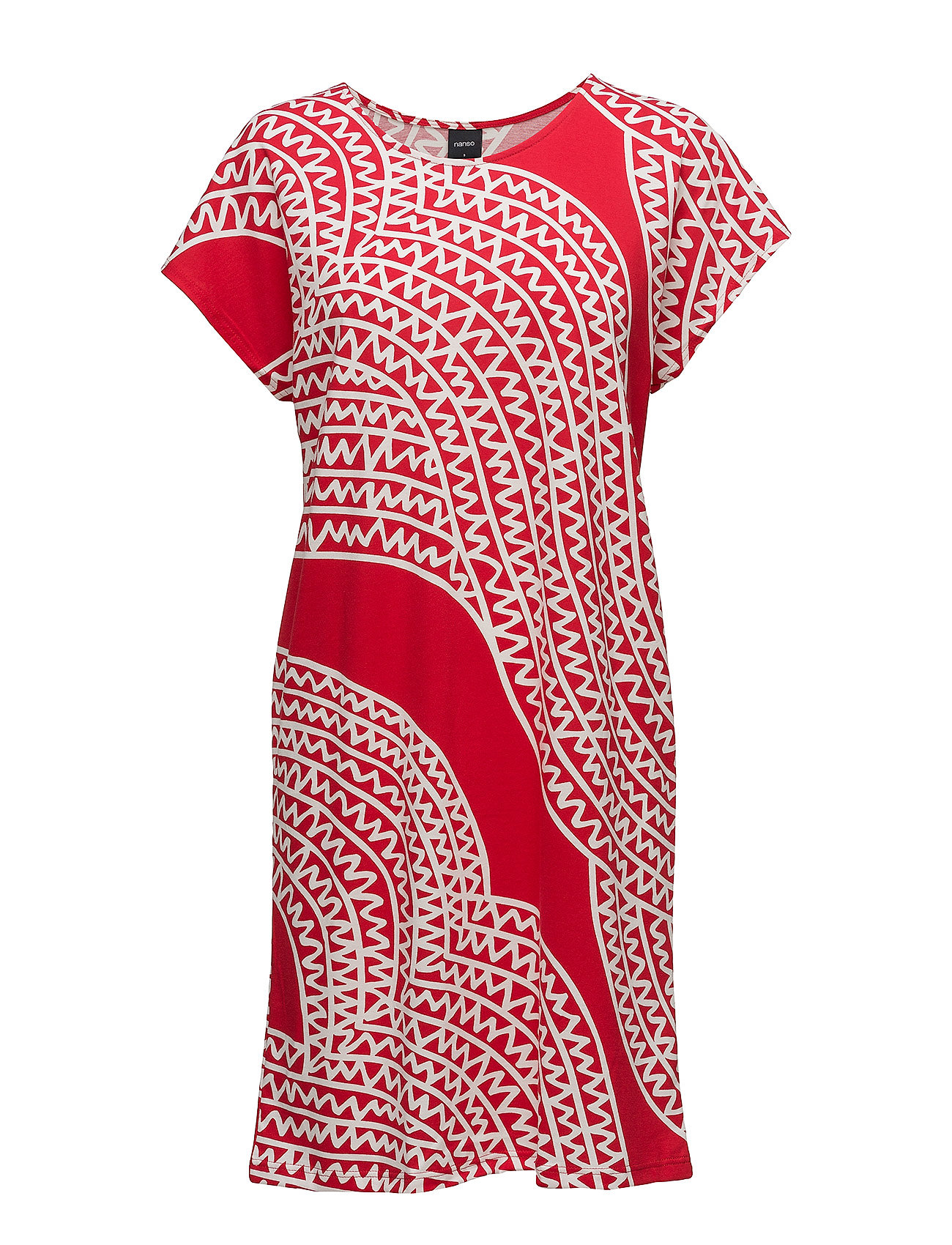 Ladies Big Shirt, Pohjola Nanso Nattøj til Damer i Rød