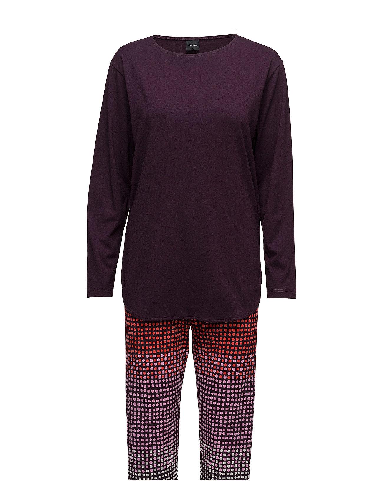 Ladies Pyjamas, Usva Nanso Nattøj til Damer i Rød