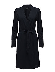 Ladies dressing gown, Käpylä - DARK BLUE