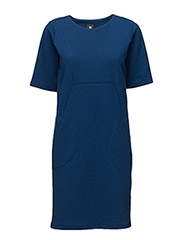 Ladies dress, Isla - BLUE