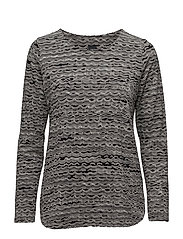 Ladies shirt, Nuudeli - BLACK