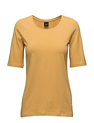 Ladies t-shirt, Basic - YELLOW
