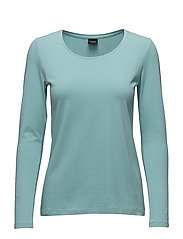Ladies shirt, Basic - AQUA