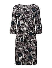 Ladies dress, Villi - BLACK