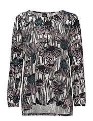 Ladies shirt, Villi - BLACK